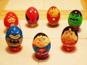 Les œufs aussi sont de super héros!