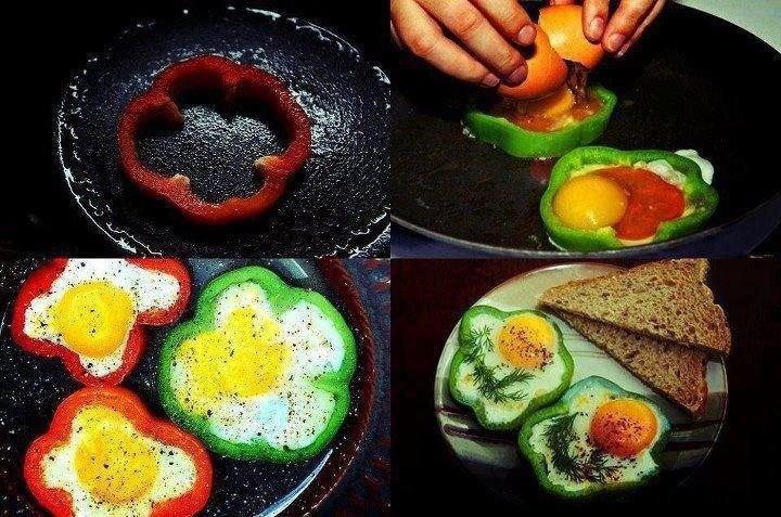 De jolies présentations d'œufs pour Pâques...