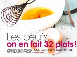 """""""32 plats sur les Oeufs"""" : """"Modes & Travaux"""""""