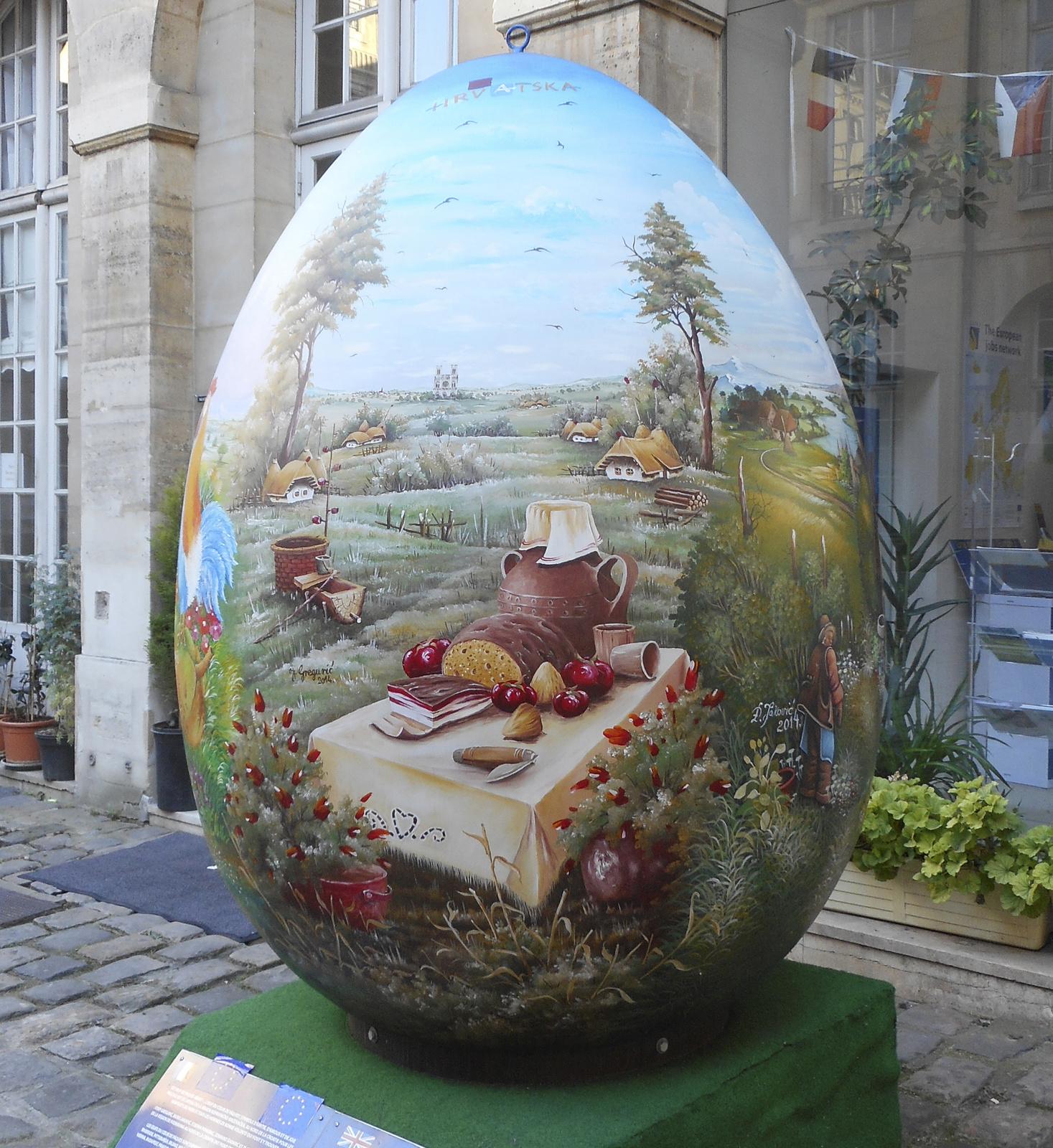 Pâques J-10 / Vive Pâques et le renouveau de la nature : Le Gros Oeuf...