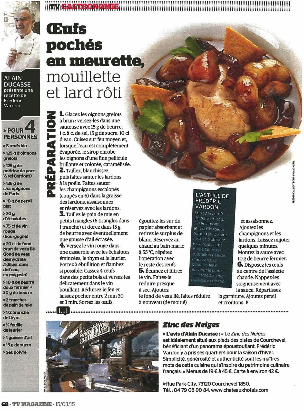 Vu dans le TV Magazine - Le Figaro