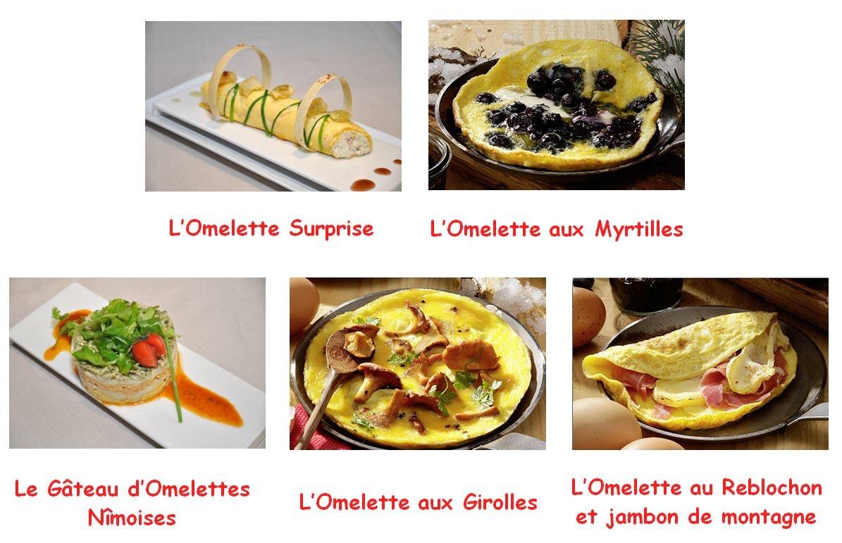 Des omelettes mignonettes en 5 idées recettes !