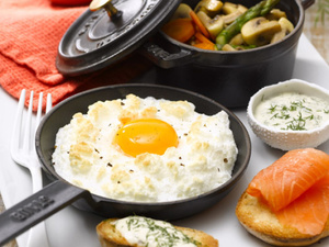Ce week-end c'est la fête des mères ! Une idée de délicieux œufs au plat !