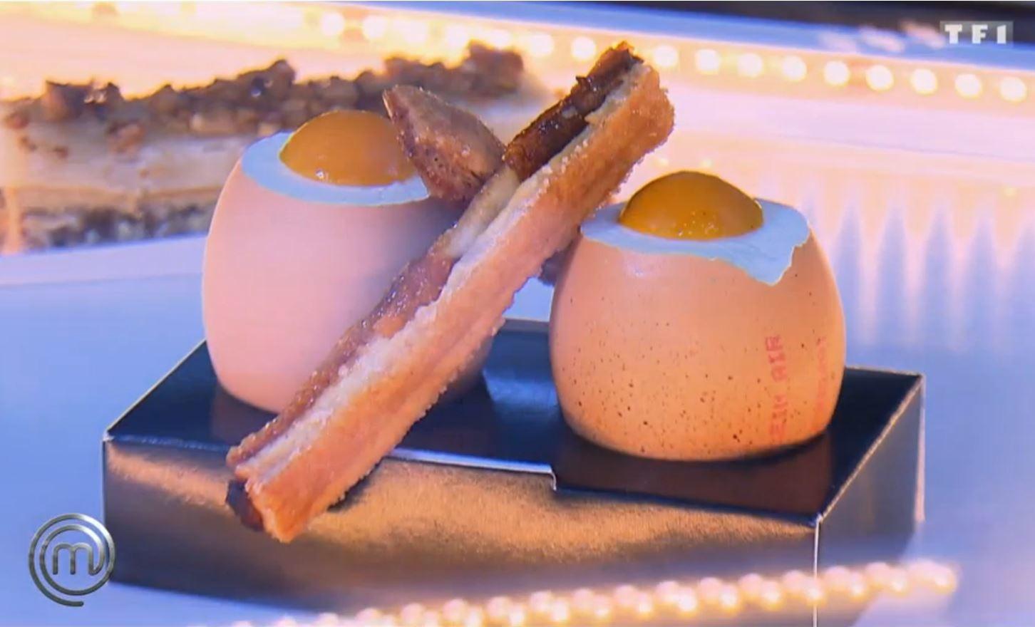 Masterchef : L'œuf en trompe l'œil du Chef Yannick Delpech