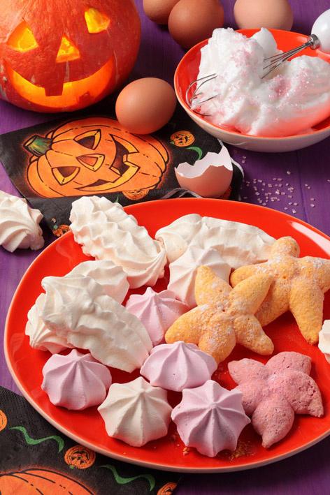 Pour Halloween : tous dingues, frapadingues de meringues !