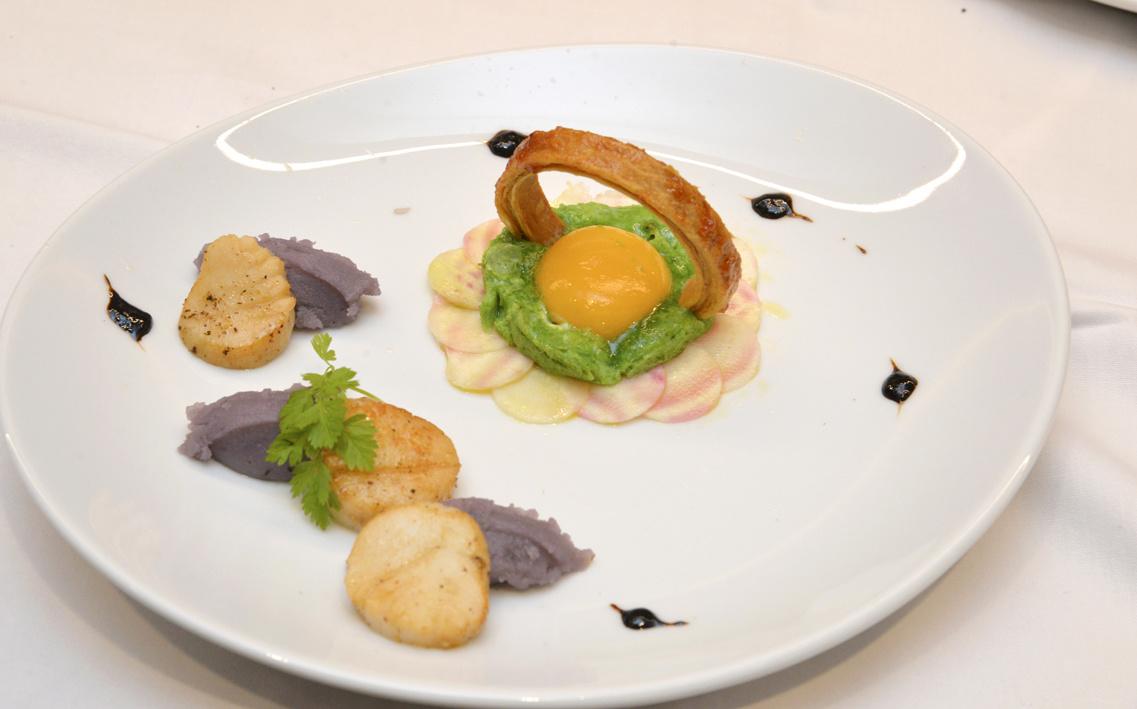 La recette d'Albane Auvray, 4ème Prix ex-aequo: L'œuf au plat à la vaudoise