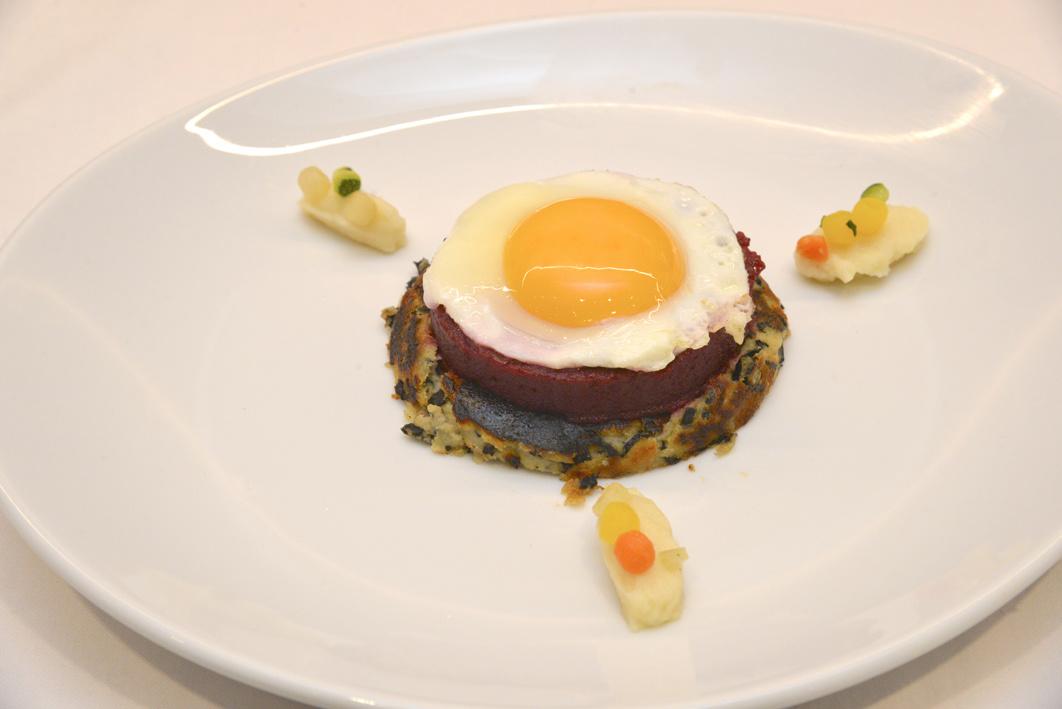 La recette de Dylan Chomet, 4ème Prix ex-aequo : L'œuf au plat aux légumes anciens