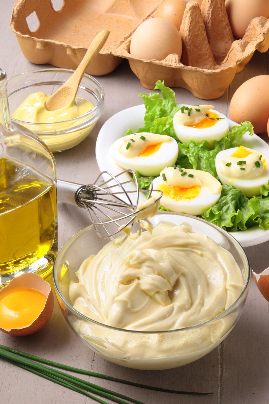 """Une """"mayo"""" maison, rien de plus bon !"""