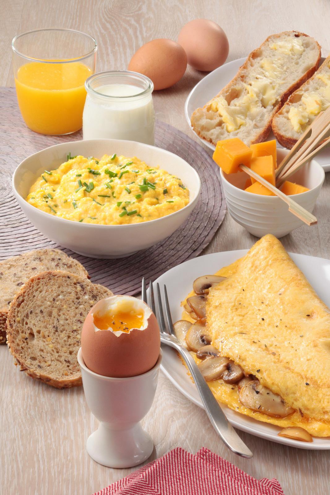 Avec les œufs, les dimanches de fête, on brunch !!