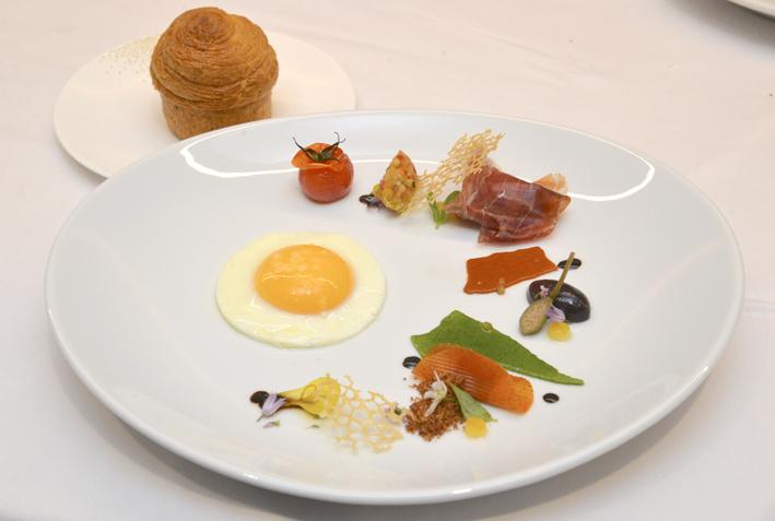 La recette œuf de Samuel Victori, 1er Prix : Jardin D'enfance