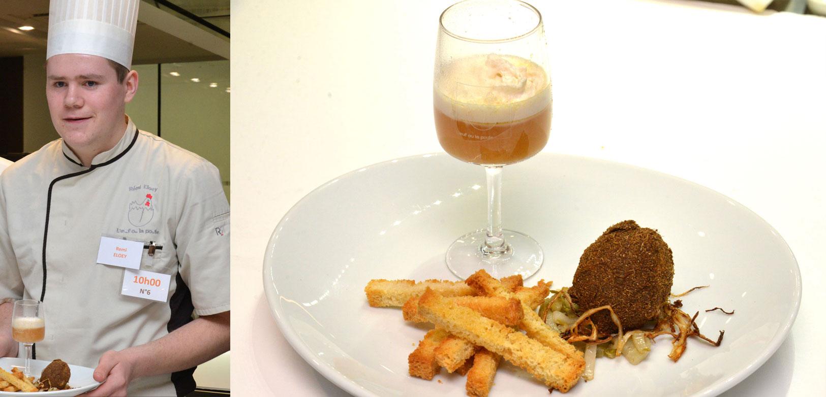 « Œuf mollet frit saveur d'Ostende » - Remy Eloey