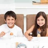 Les oeufs : le petit déjeuner idéal pour rassasier les enfants