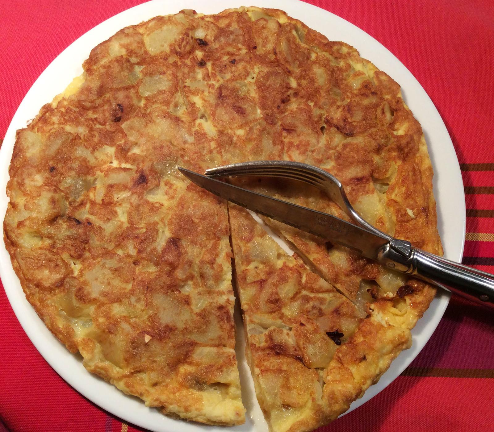 Famille retour de vacances... plus un sous en poche : la Tortilla Espagnola sauve la maisonnée !