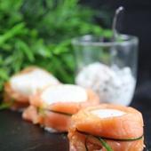 Recette : Ballotins de saumon fumé à l'oeuf poché