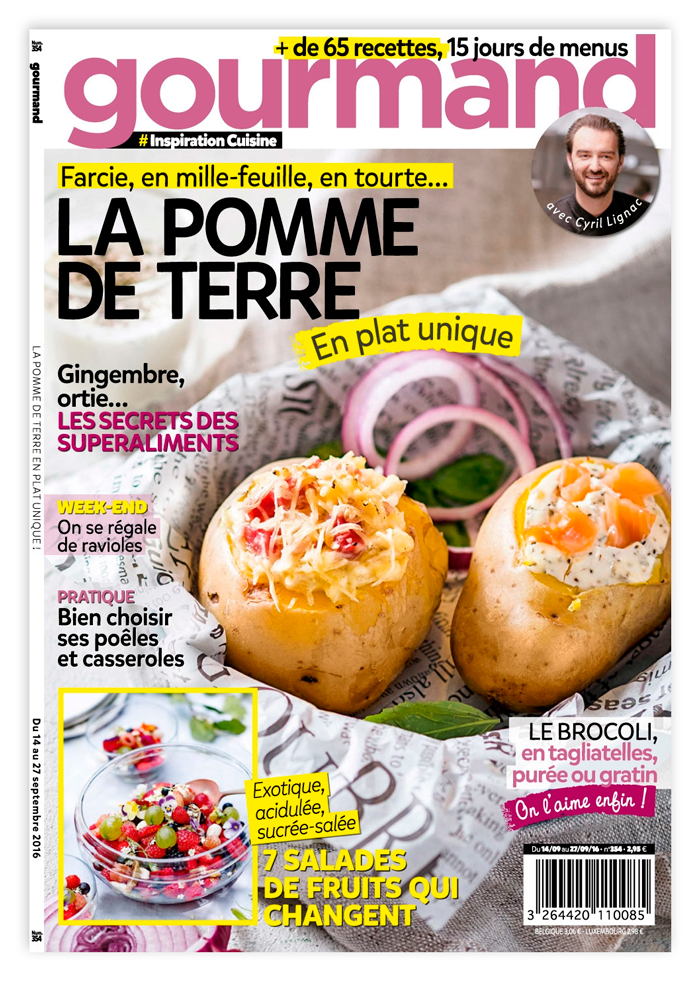 Vu dans le magazine Gourmand : l'Œuf cocotte brioché