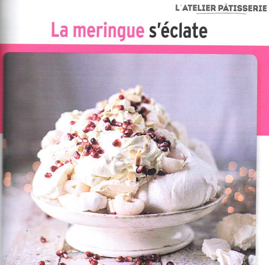 Dans la revue Gourmand, un grand dossier spécial meringues !