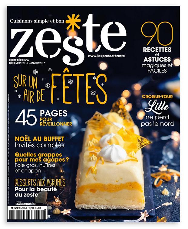 """Œufs : en titre """"Confort food*, requinque-moi"""" : l'un des thèmes de la belle revue """"Zeste"""""""