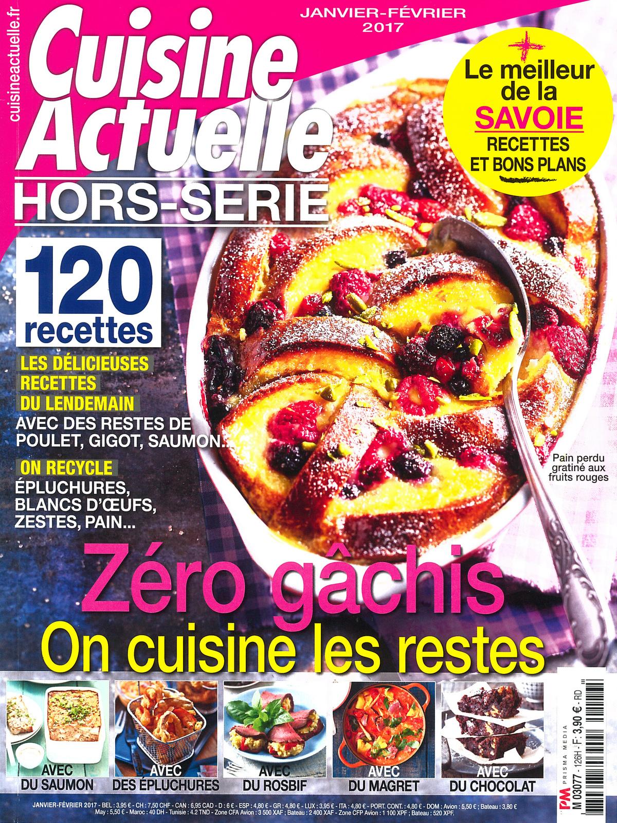 Rien ne se perd : des oeufs, de multiples recettes dans le magazine Cuisine Actuelle !