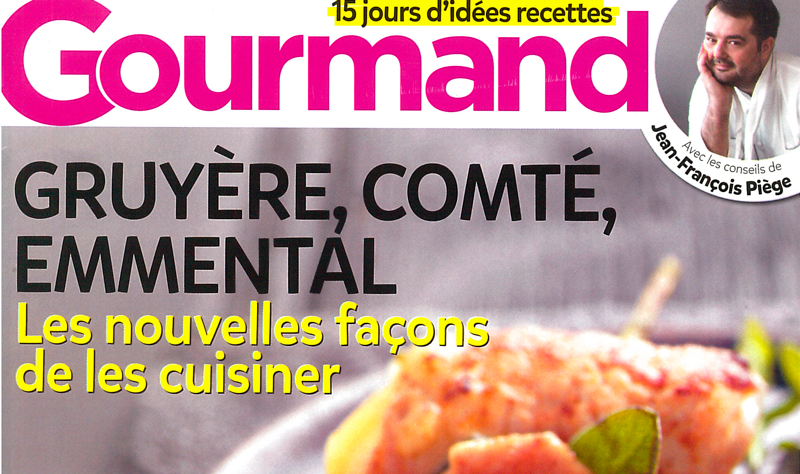 Vu dans Gourmand N°364