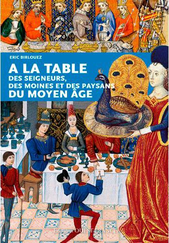 Table des seigneurs des moines et des paysans du moyen âge