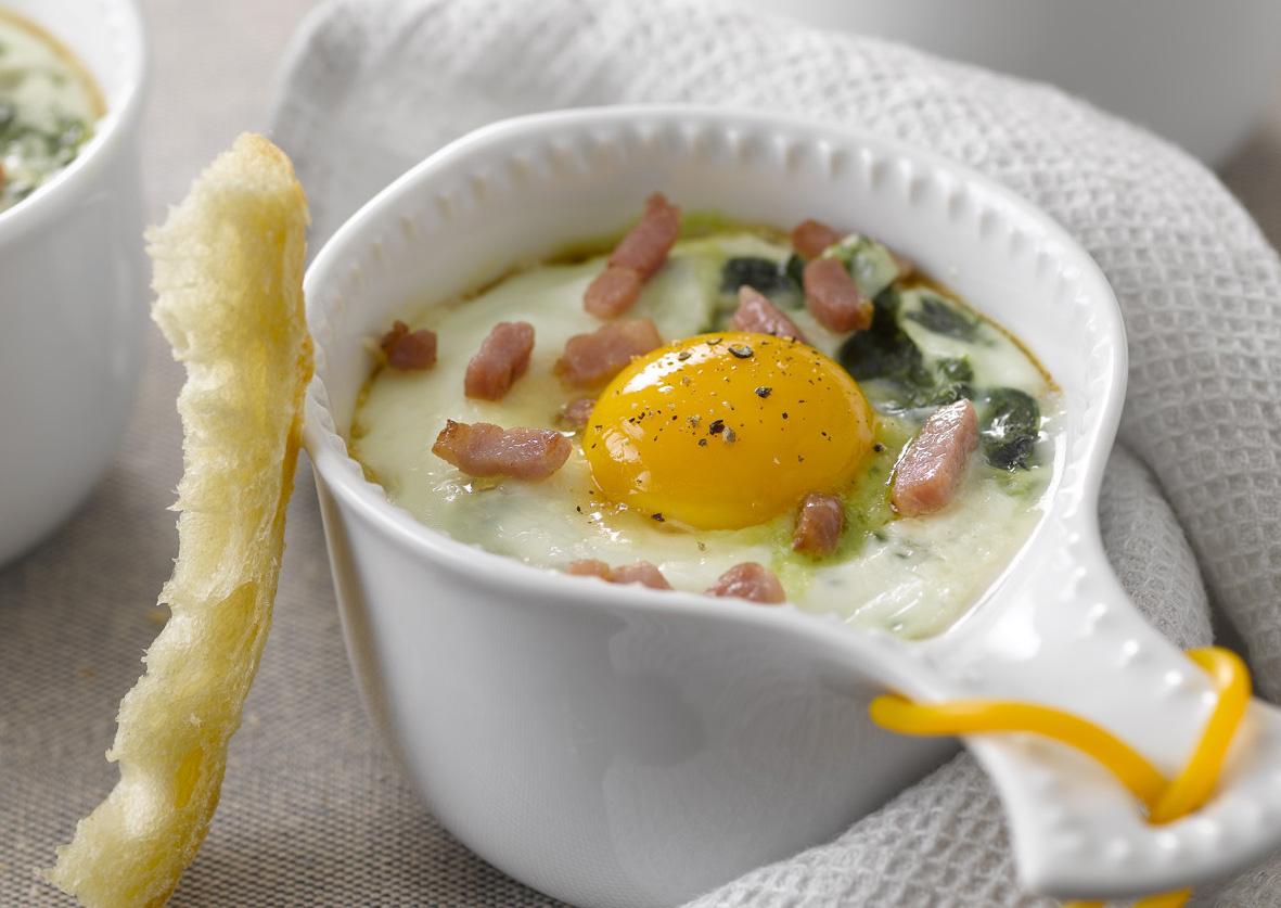 Vu dans le magazine Gourmand, des recettes avec les œufs !
