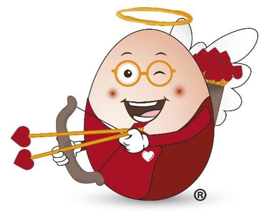 Oeuf Maitre d'Ecole Saint Valentin ©AdocomRP
