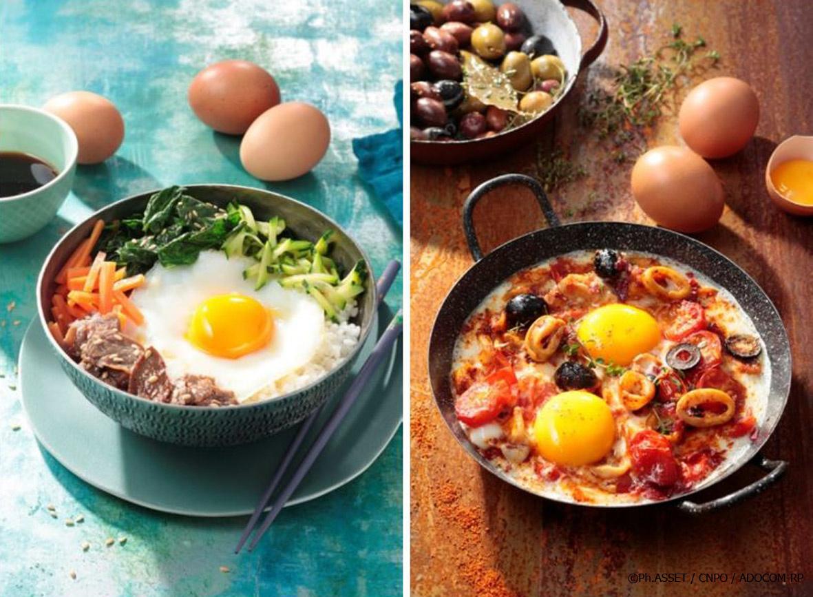 recettes d'œufs pour lesvacances