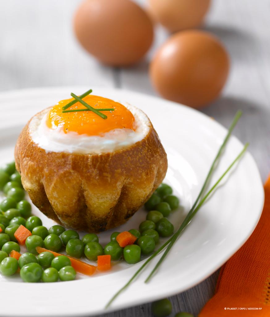 œuf brioche